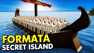 SECRET ISLAND IN FORMATA + FORMATA GIVEAWAY! (Formata Funny Gameplay)