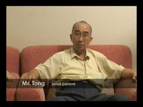Sinus Patient, Mr. Tong with Medical Qigong Treatment (Wellness Medical Qigong)
