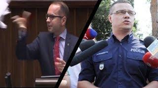 Skandal z posłem PO    Szczerba upublicznił dane policjanta