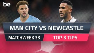 Premier League Predictions | Manchester City Vs Newcastle United Top Betting Tips