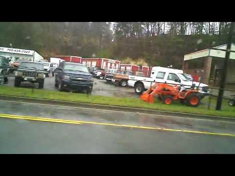 Driving Through Ellijay, Georgia.