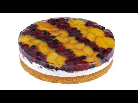 Тирольский пирог - очень сочный и фруктовый. Подробный видео рецепт.
