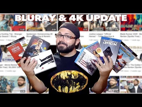 BIG Bluray & 4K Collection Update (30+ Titles) + GIVEAWAY | BLURAY DAN