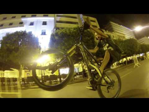 Night Ride in Tunisia