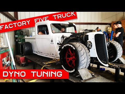 Factory Five Racing '35 Truck – Dyno Tuning!