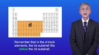 A Level Chemistry Electron Configuration of Ions 2 (all exam boards).