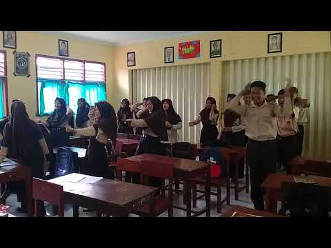 Senam Pinguin SMP Ma'arif Bongas