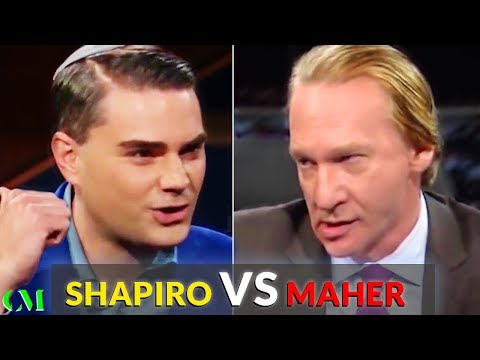 Ben Shapiro VS Bill Maher: ALPHA BATTLE Analysis