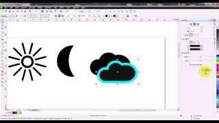 Урок для новичков как нарисовать векторные иконки в corelDraw
