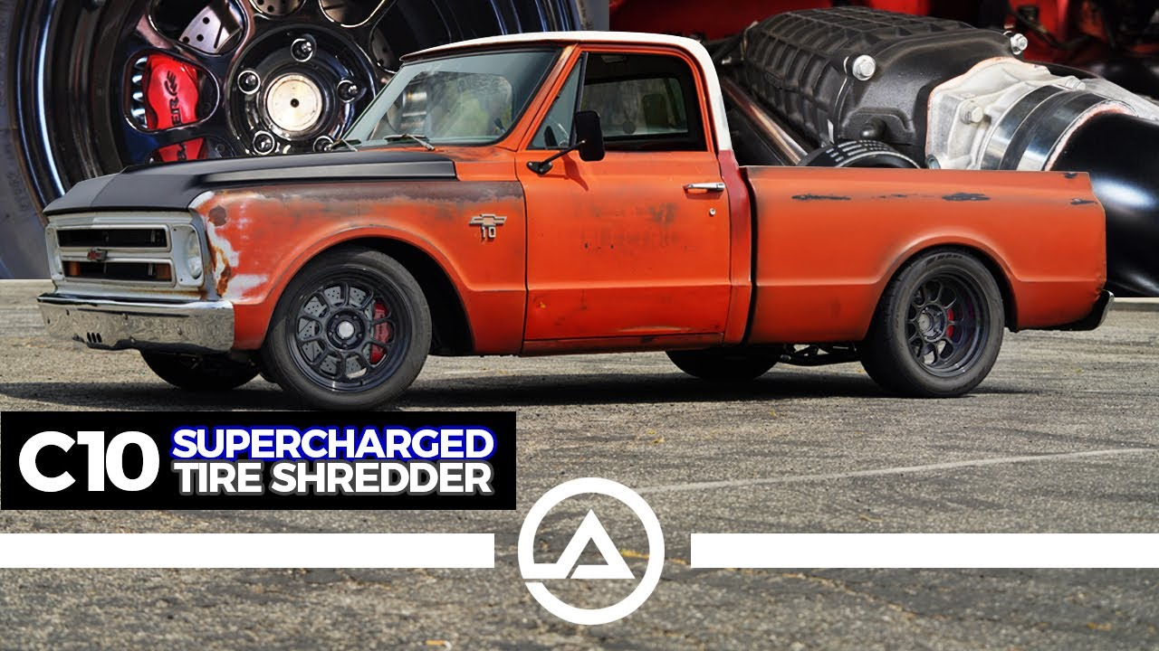 1,200HP Supercharged Pro-Touring Chevy C10 | Lucky Costa's Shop Truck