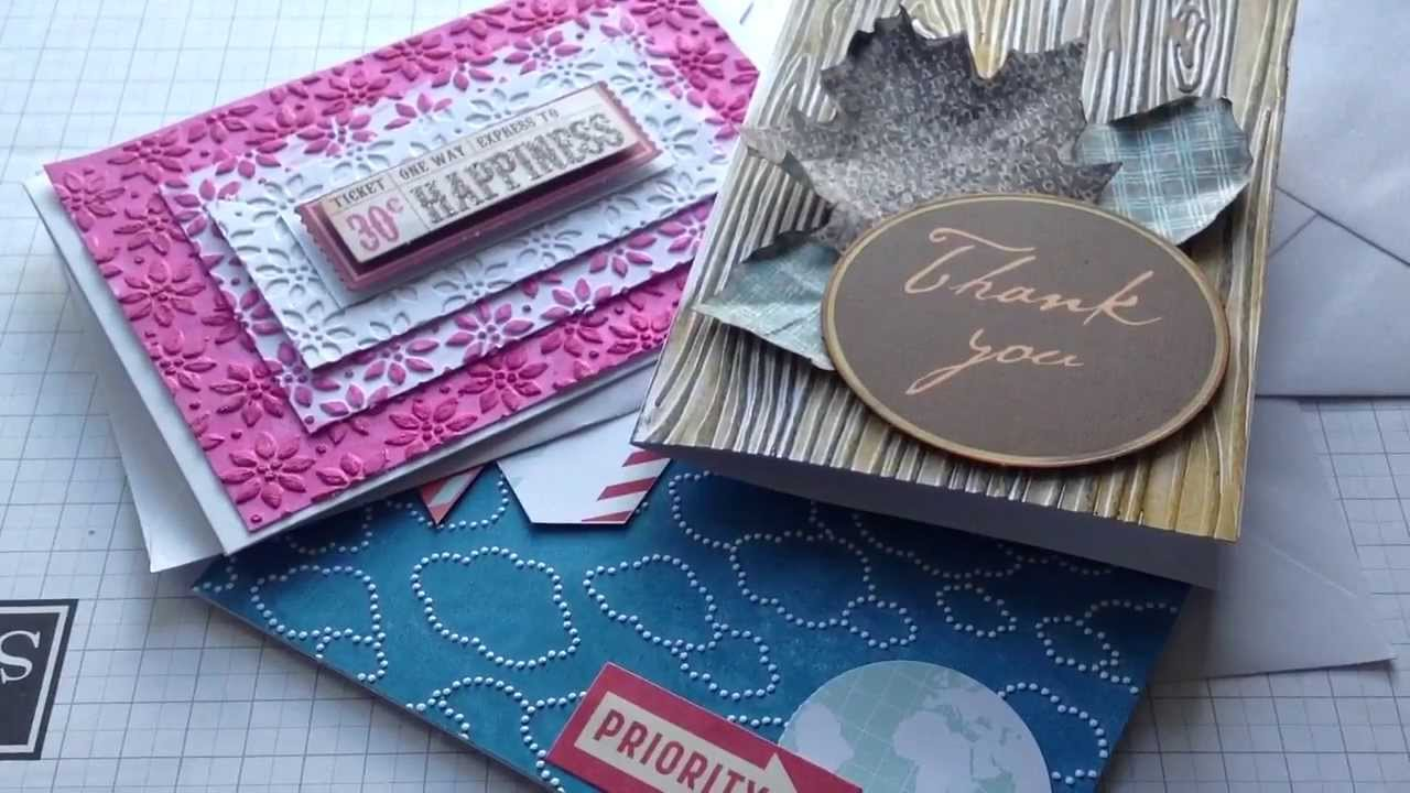 how to make an embossing folder