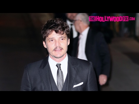 Pedro Pascal From Game Of Thrones Greets Fans At Jimmy Kimmel Live! Studios 2.15.17
