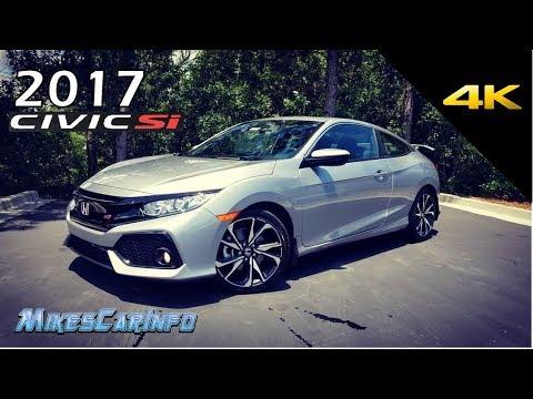 2017 2018 Honda Civic SI Turbo - Ultimate In-Depth Look in 4K