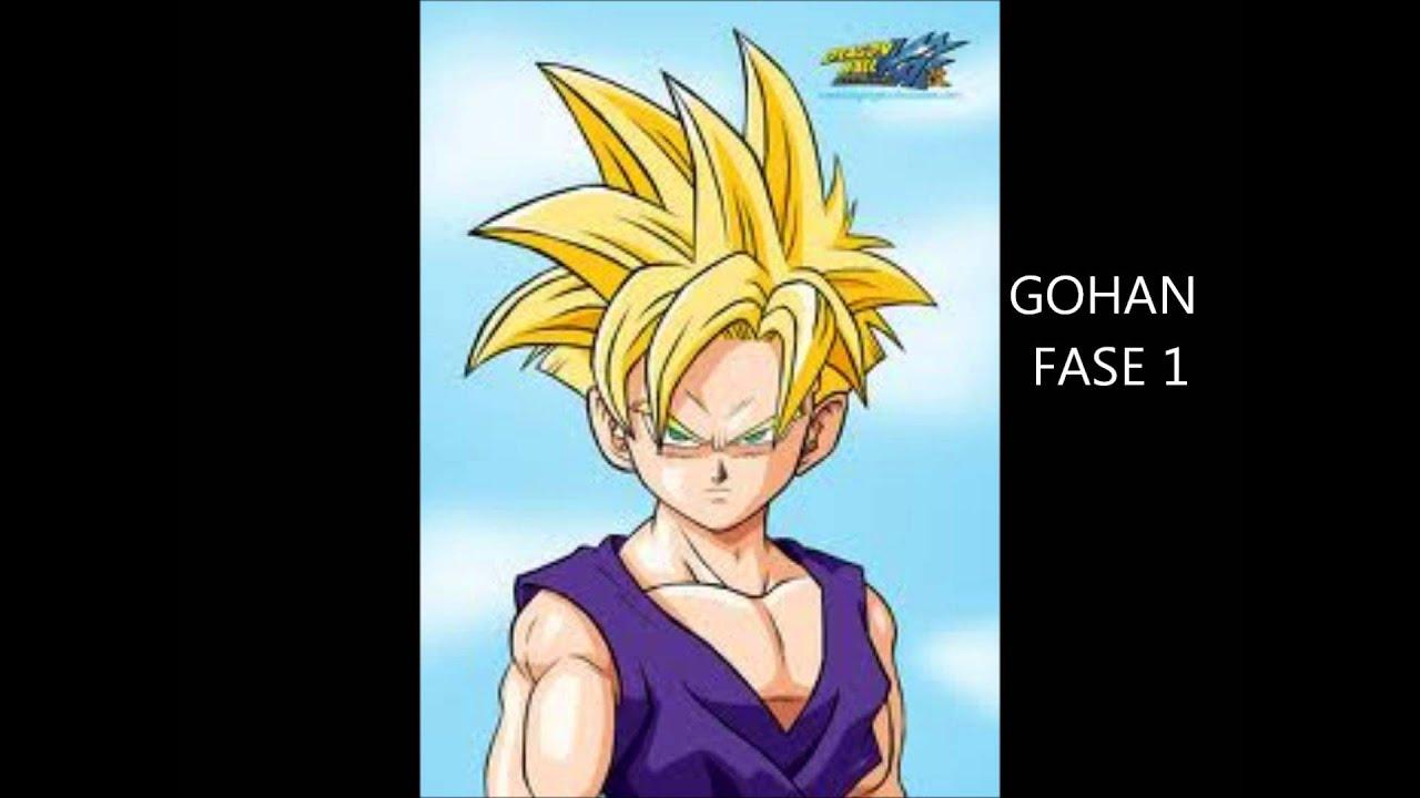 Goku Fase 10000 Vs Vegeta Fase 10000: LAS FASES DE GOKU,GOHAN,GOTEN Y PAN