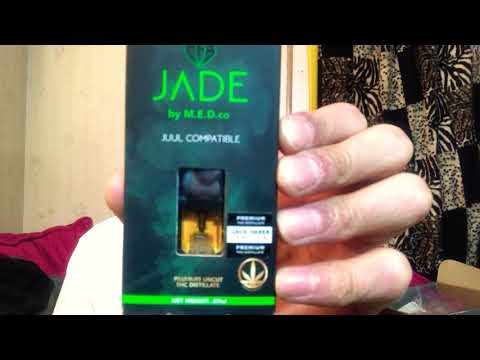 JADE by M E D co- Jack Herer (Sativa) JUUL Compatible Pod - YouTube