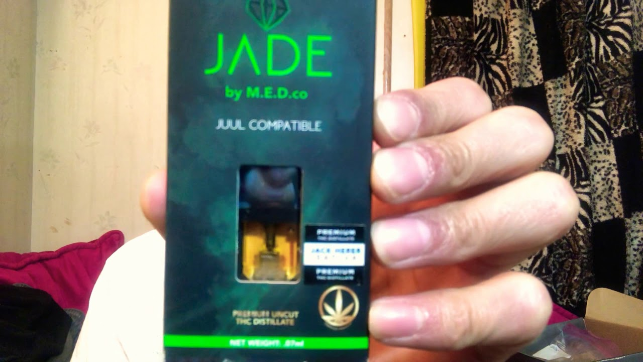 JADE by M E D co- Jack Herer (Sativa) JUUL Compatible Pod