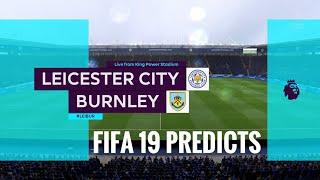 Leicester city vs Burnley premier league prediction matchweek 12