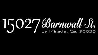 15027 Barnwall St.