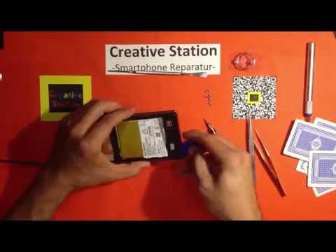 Sony Xperia Z1 Display Reparatur / Austausch / Wechsel