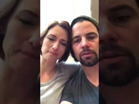 Chyler Leigh & Nathan West live on Periscope April 29, 2017