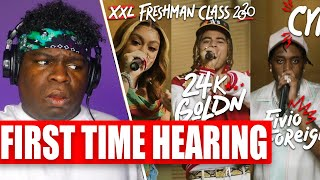 Fivio Foreign, Calboy, 24kGoldn and Mulatto's 2020 XXL Freshman Cypher - REACTION