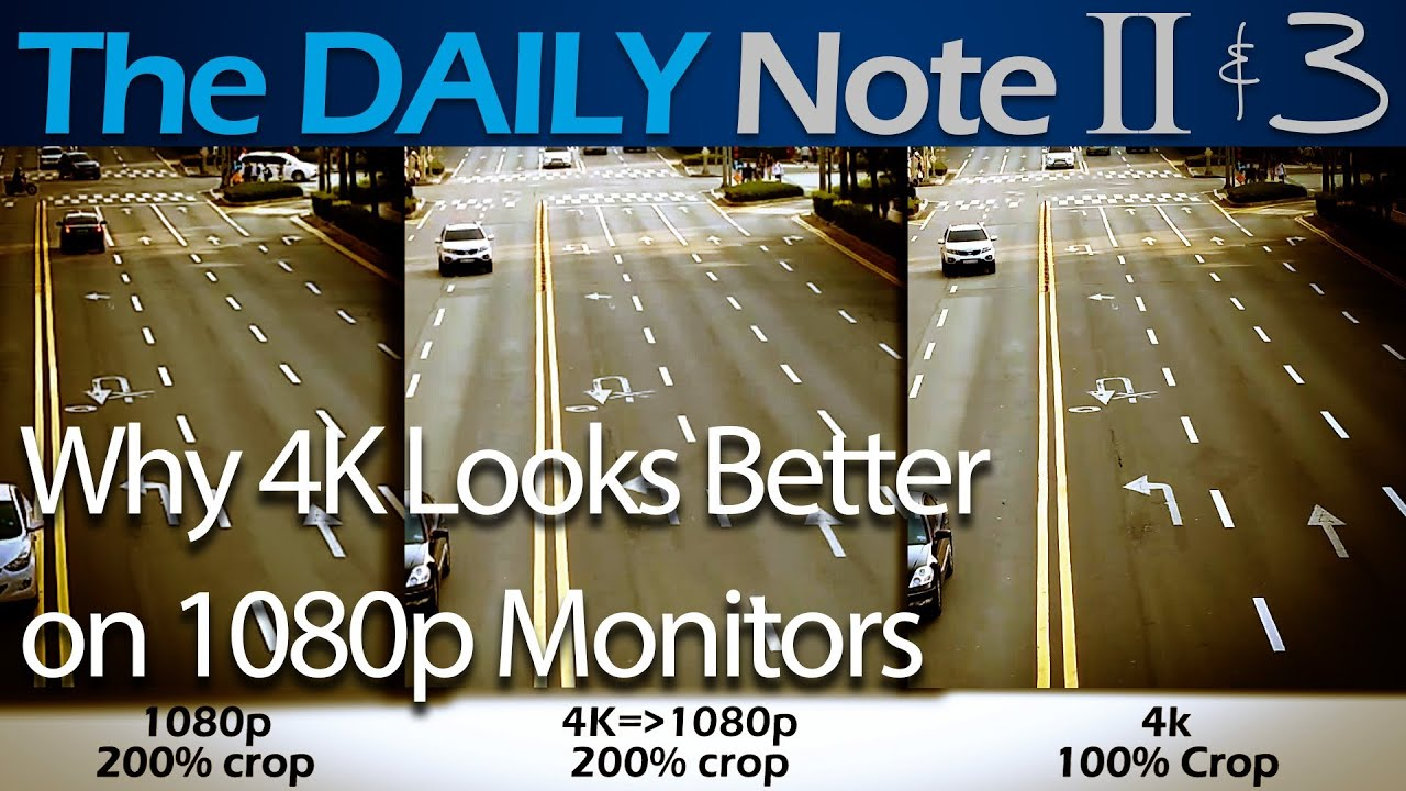 Why Does 4K Look Better on 1080p Monitors - YouTube