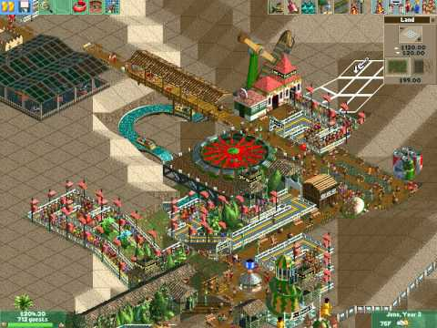 how to play rollercoaster tycoon 2 without cd