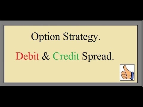 What is Option Strategies  Debit Spread and Credit Spread explained