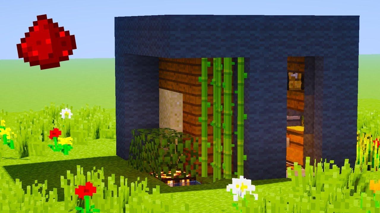 Minecraft - 5X5 Modern Redstone House Tutorial (Redstone Tutorial)
