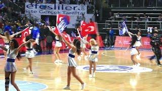 Turkish Cheerleaders. Stock Footage