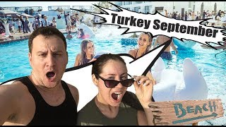 TURKEY IN SEPTEMBER ? ТУРЦИЯ СЕНТЯБРЬ 2019 ! АЛАНИЯ БЕЛЕК СИДЕ , ОТЗЫВЫ ПОГОДА МОРЕ ,3 СЕНТЯБРЯ