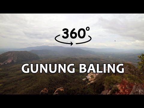 Gunung Baling in 360