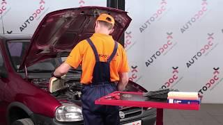 Comment remplacer des filtre à air sur une OPEL CORSA B TUTORIEL | AUTODOC