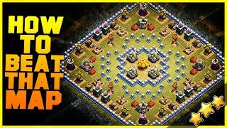"EASY METHOD How to 3 Star ""BESIEGED"" with TH10, TH11, TH12 