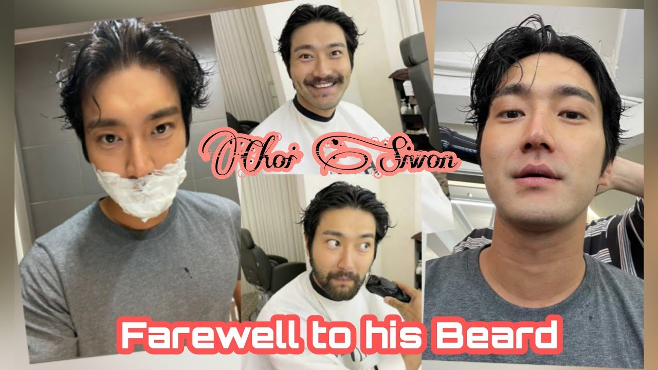 Download Choi Siwon's Farewell to His Beard 🤭