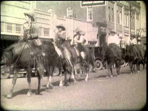 Tucson Rodeo Parade 1928 Youtube