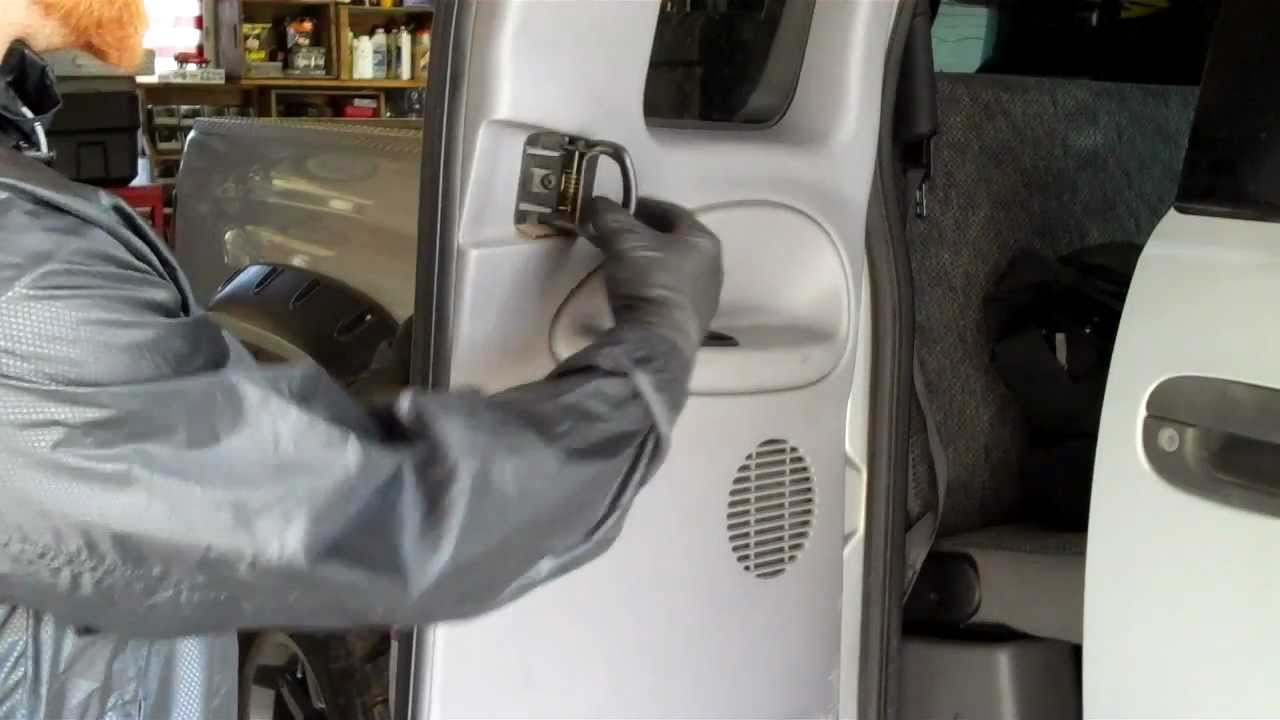 How To Fix The Rear Door Handles On Your Dodge Ram Truck