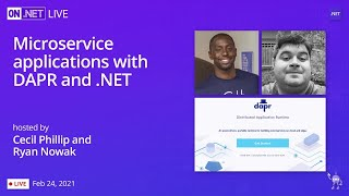 On .NET Live - Microservice applications with DAPR and .NET
