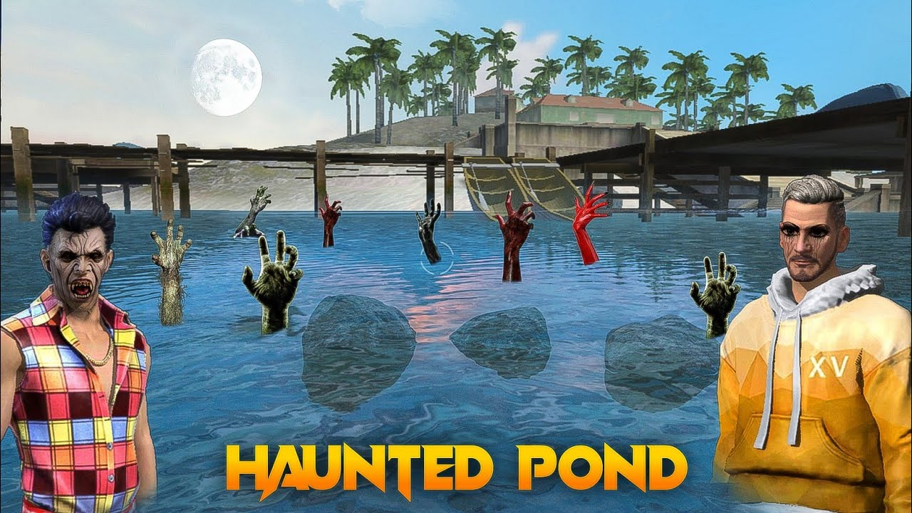 Haunted Pond [ भूतिया तालाब ] New Short And Emotional Story In Hindi || Free fire Story