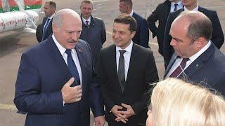 Зеленский и Лукашенко. Встреча в Житомире. Форум регионов Украины и Беларуси