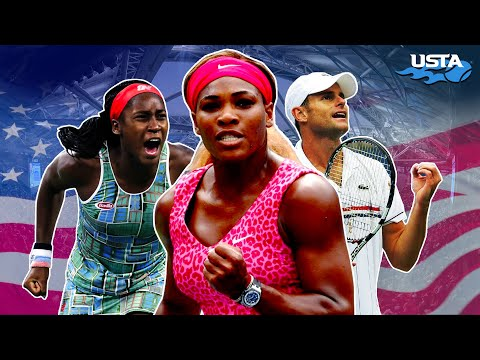 Greatest American Moments At The US Open | Best Of The Decade