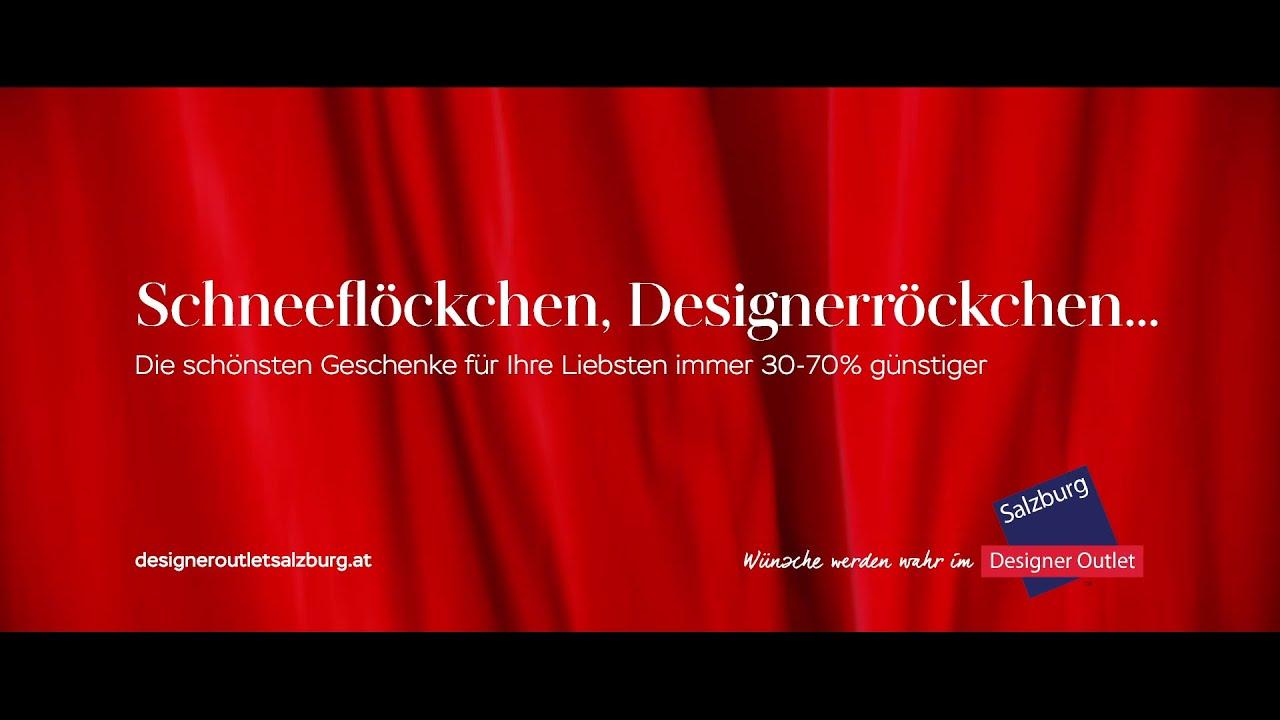 Weihnachten im Designer Outlet Salzburg