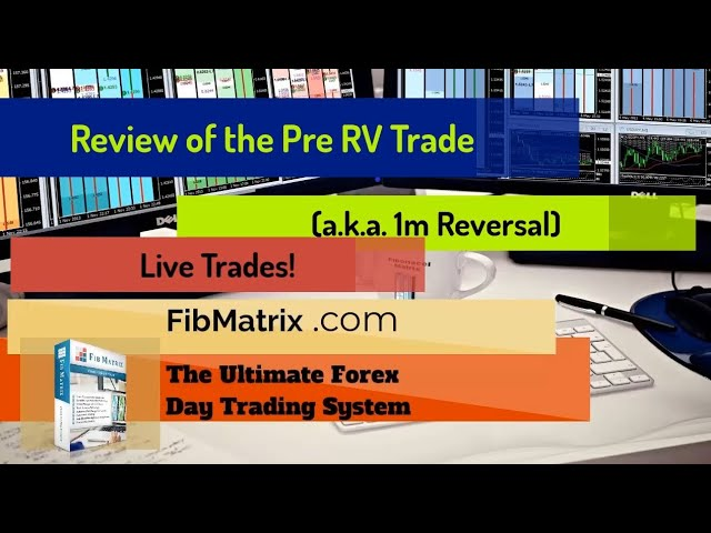 Pre RV (1m Reversal) Trade Automated Forex Trading Strategy Master Class Settings Review Live Trade