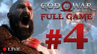 GOD OF WAR 4 (2018) | Full Game Stream #4