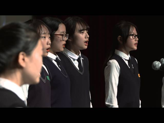 제7회 전국 중고등학교 중창경연대회 - (경기) 장호원중교 - 동상