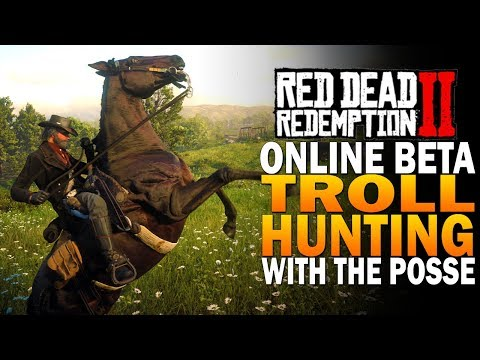 Hunting Trolls With The Posse & Showdowns! Red Dead Redemption 2 Online [RDR2]