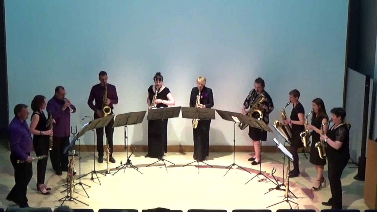 Handel in the Strand - saxophone ensemble