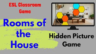 Esl Game   Rooms Of The House   Hidden Picture Game