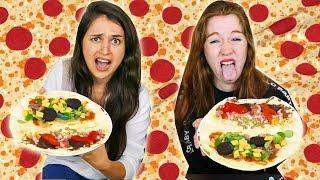 PIZZA CHALLENGE AVEC PTIKOUIK ! QUI AURA LES CROQUETTES POUR CHAT ?