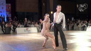 2011 WDSF World Latin Final: Zaytsev - Kuzminskaya Solo Cha Cha PoV